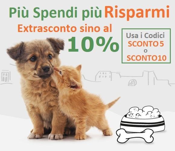 Più Spendi e PIU' RISPARMI su Zampando. Buono SCONTO del 5 e 10% in più!!!