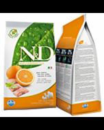Farmina N&D Grain Free Dog Adult Medium Merluzzo e Arancia Kg.2,5