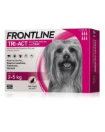 Frontline Tri-Act Cane 2-5 kg. 3 Pipette da 0,5 ml