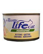 Lifecat Natural Le Ricette da 150g - gusto Kitten Gattini al Pollo