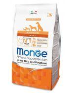 Monge All Breed Adult Anatra Riso e Patate kg.2,5