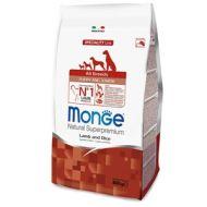 Monge All Breeds Puppy Agnello e Riso kg.12,5