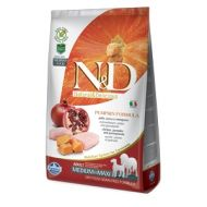 Farmina N&D Grain Free Pumpkin Adult Medium & Maxi Pollo Zucca e Melograno kg.2,5