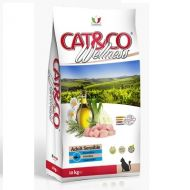 Adragna Pet Food Gatto Cat & Co Wellness Adult Sensible Pesce e riso 1,5 Kg