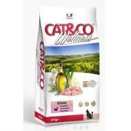 Adragna Pet Food Gatto Cat & Co Wellness Kitten Pollo e Riso 10 Kg