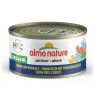 Almo Nature Gatto HFC Natural Tonno con Vongole 70 gr