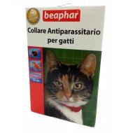 Beaphar Collare Antiparassitario Rosso per Gatti da 35cm