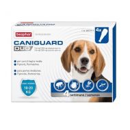 Beaphar Caniguard Duo Cane Medio Spot-on 10-20 kg 4 Pipette
