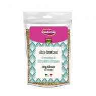 Inodorina Deodorante per Lettiera al profumo di Muschio Bianco 320 Gr