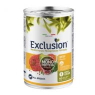 Exclusion Mediterraneo Adult All Breed Manzo 400 gr - Formula Noble Grain