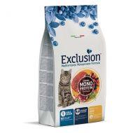 Exclusion Mediterraneo Gatto Adult +1 Noble Grain al Manzo 1,5 Kg.