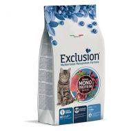Exclusion Mediterraneo Gatto Adult +1 Noble Grain al tonno 1,5 Kg.