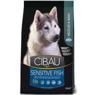 Farmina Cibau Sensitive al Pesce Medium & Maxi 12 kg.