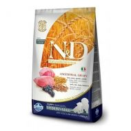 Farmina N&D low Free Canine Puppy Medium Maxi Farro Avena Agnello e Mirtillo 2,5 Kg