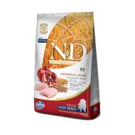 Alimento naturale per cani cuccioli di taglia grande a base di carne di pollo e melograno Kg.12