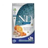 Farmina N&D Ocean Adult Medium e Maxi Merluzzo Zucca e Arancia 12 kg