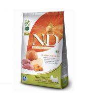 Farmina N&D Pumpkin Canine Adult Mini Cinghiale Zucca e Mela 2,5 Kg