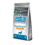 Farmina Vet life Cane Hypoallergenic Pesce e Patate Kg.12