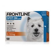 Frontline Spot On 2-10 kg. Cane Piccolo 4 pipette