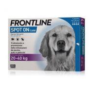 Frontline Spot On 20-40 kg. Cane Grande 4 pipette