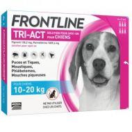 Frontline Tri-Act Cane 10-20 kg. 3 Pipette da 2 ml