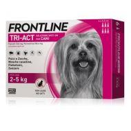 Frontline Tri-Act Cane 2-5 kg. 6 Pipette da 0,5 ml