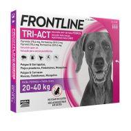 Frontline Tri-Act Cane 20-40 kg. 3 Pipette da 4 ml