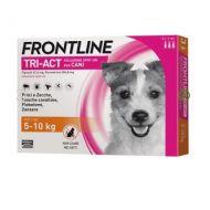 Frontline Tri-Act Cane 5-10 kg. 3 Pipette da 1 ml