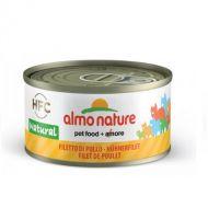 HFC Almo Nature Gatto Natural Filetto di Pollo 70 gr