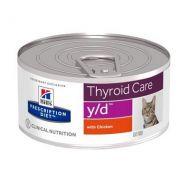 Hill's Prescription Diet y/d Gatto Thyroid Care 156 gr
