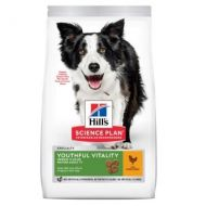Hill's Science Plan Cane Adult Youthful Vitality Medium Pollo 12 Kg