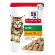 Hill's Science Plan Gatto Kitten Pollo 85 Gr in bustina