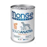 Monge Monoproteico Cane Solo Anatra 400 Gr.