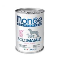 Monge Monoproteico Cane Solo Maiale 400 Gr.