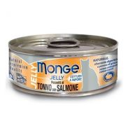 Monge Superpremium Natural Gatto Jelly Tonno e Salmone 80 Gr