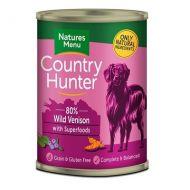 Natures Menu Dog Country House Cane con Cervo e mirtilli Lattina da 400 Gr.