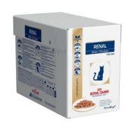 Royal Canin Veterinary Diet Renal Gatto al Pollo Gatto 12 Bustine da 100 gr.