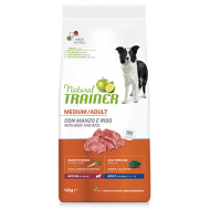 Trainer Natural Adult Cane Medium Manzo e Riso 12 Kg