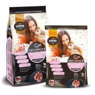 Uno Di Famiglia Cibo Secco Microbiota per Cani Mini Monoproteico Sensitive Digestive 2 Kg