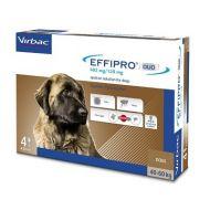 Virbac Effipro Duo Spot On Cane Gigante 40-60 Kg 4 pipette da 402 mg