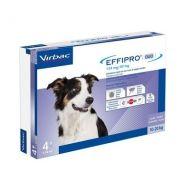 Virbac Effipro Duo Spot On Cane Medio 10-20 Kg 4 pipette da 134 mg
