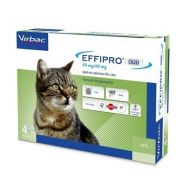 Virbac Effipro Duo Spot On Gatto 4 pipette da 50 mg
