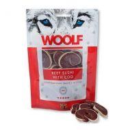 Woolf Sushi Manzo e Merluzzo 100 gr. - Snack per cani