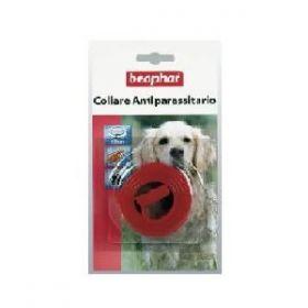 Beaphar Collare Antiparassitario per Cani Colore Rosso cm. 65