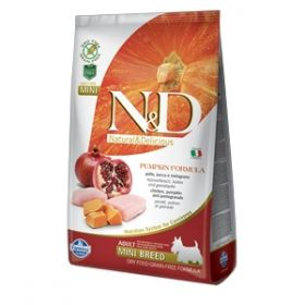 Farmina N&D Pumpkin Canine Adult Mini Pollo Zucca e Melograno 2,5 Kg