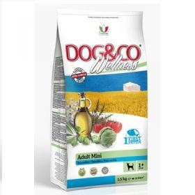 Adragna Pet Food Cane Dog & Co Wellnes Adult Mini Pesce e riso 2,5 Kg