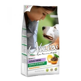 Adragna Pet Food Cane Naxos Adult Mini Coniglio e Agrumi di Sicilia 7 Kg