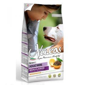 Adragna Pet Food Cane Naxos Adult Mini Maiale e Agrumi di Sicilia 7 Kg