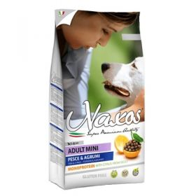 Adragna Pet Food Cane Naxos Puppy Mini Pesce e Agrumi di Sicilia 7 Kg