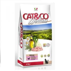 Adragna Pet Food Gatto Cat & Co Wellness Kitten Pollo e riso 400 Gr.